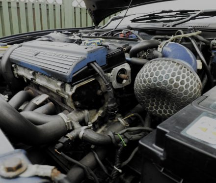 The heart of this car, the 1.6 Rover K-Series that will power my Lada
