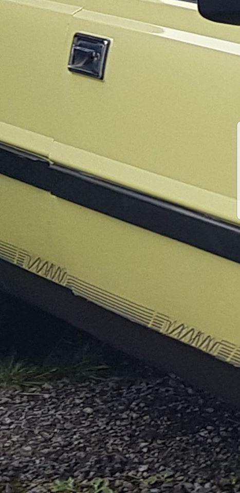 Pattern on the FSO Polonez - Photo provided by Jerzy Korczak
