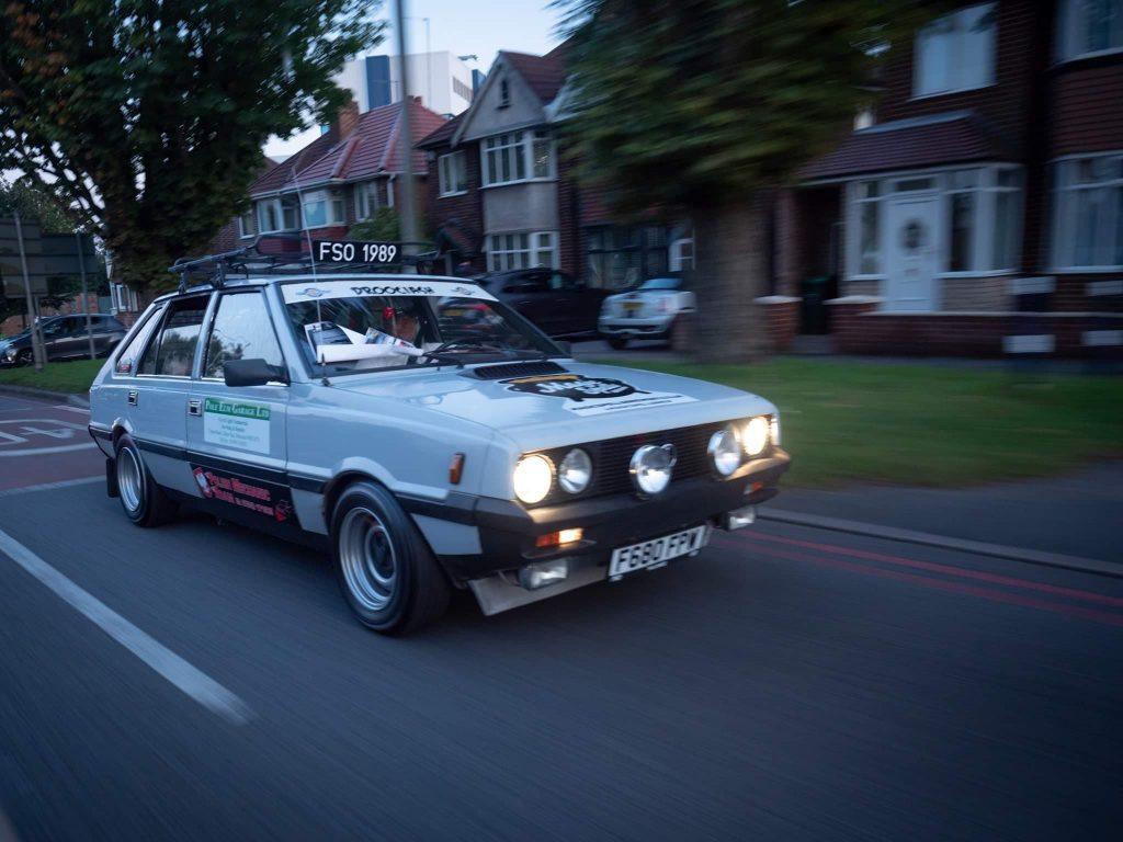 Patryk Pat Druciarz Firlej's FSO Polonez