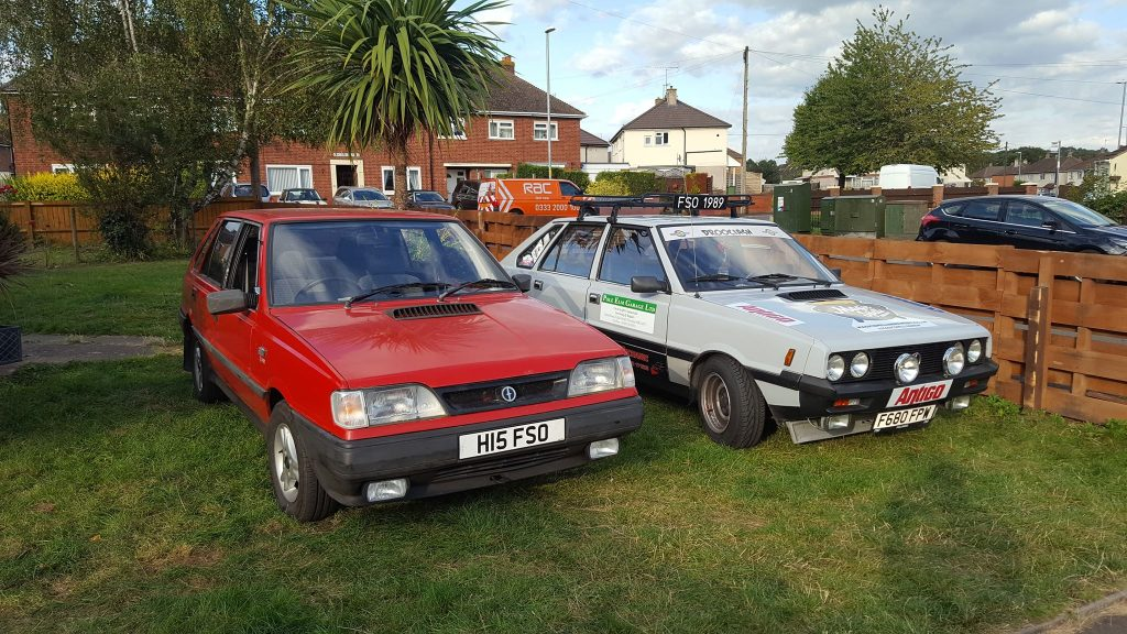 A pair of FSO Polonez's - Photo provided by Patryk Pat Druciarz Firlej
