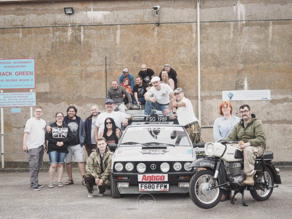Happy people, happy FSO Polonez - Photo provided by Patryk Pat Druciarz Firlej