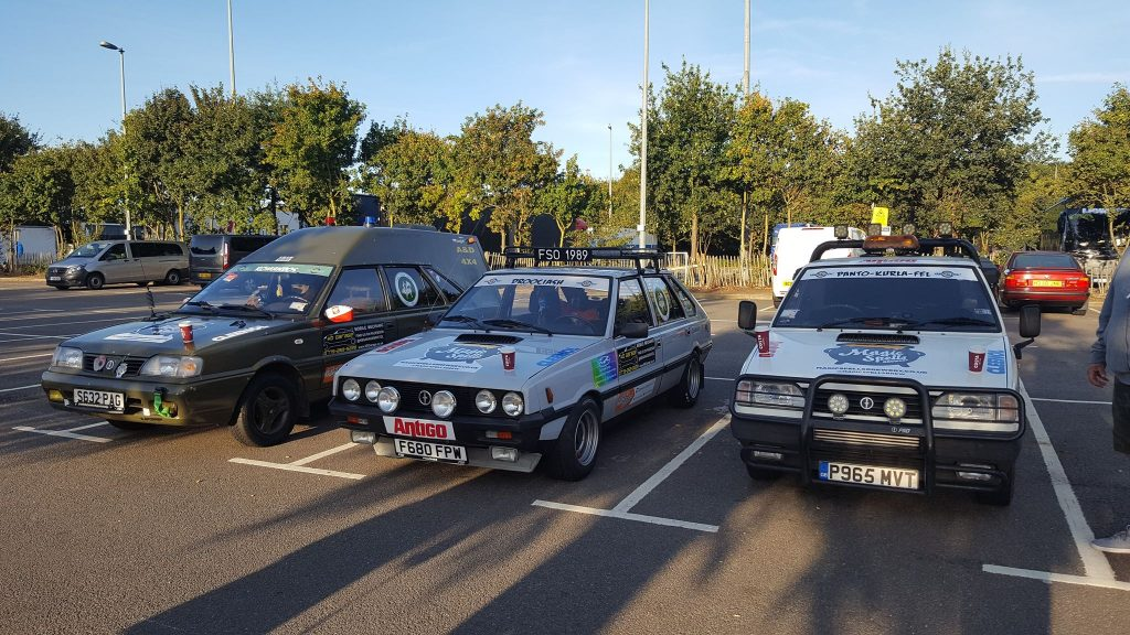 Collection of FSO Polonez's - Photo provided by Patryk Pat Druciarz Firlej