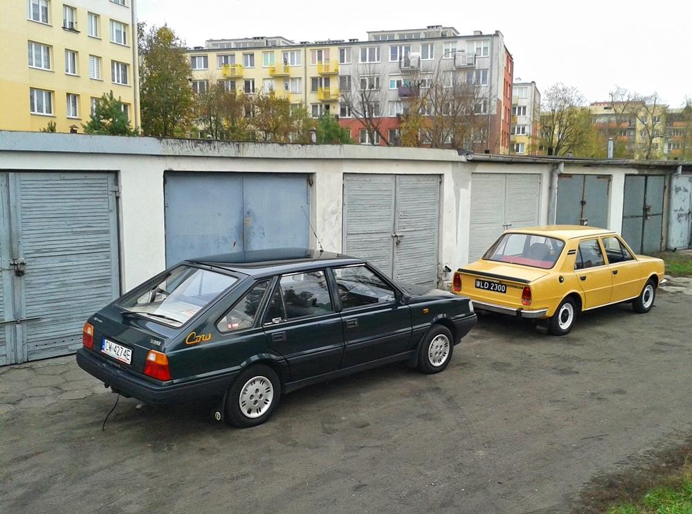 Paweł Oborski's FSO Polonez Caro