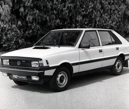 The FSO Polonez, based on the Fiat 125 and Poland's world beater.