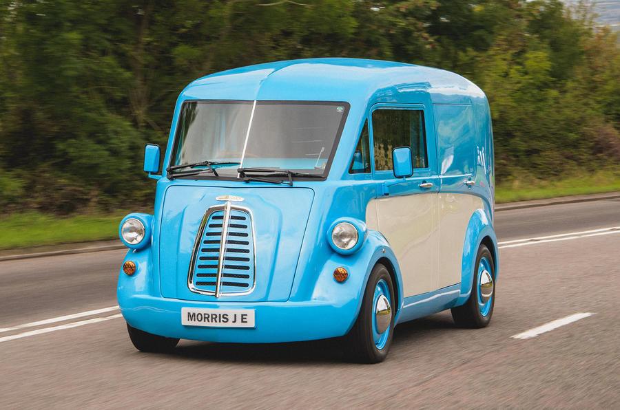 New Morris JE Electric Van Unveiled