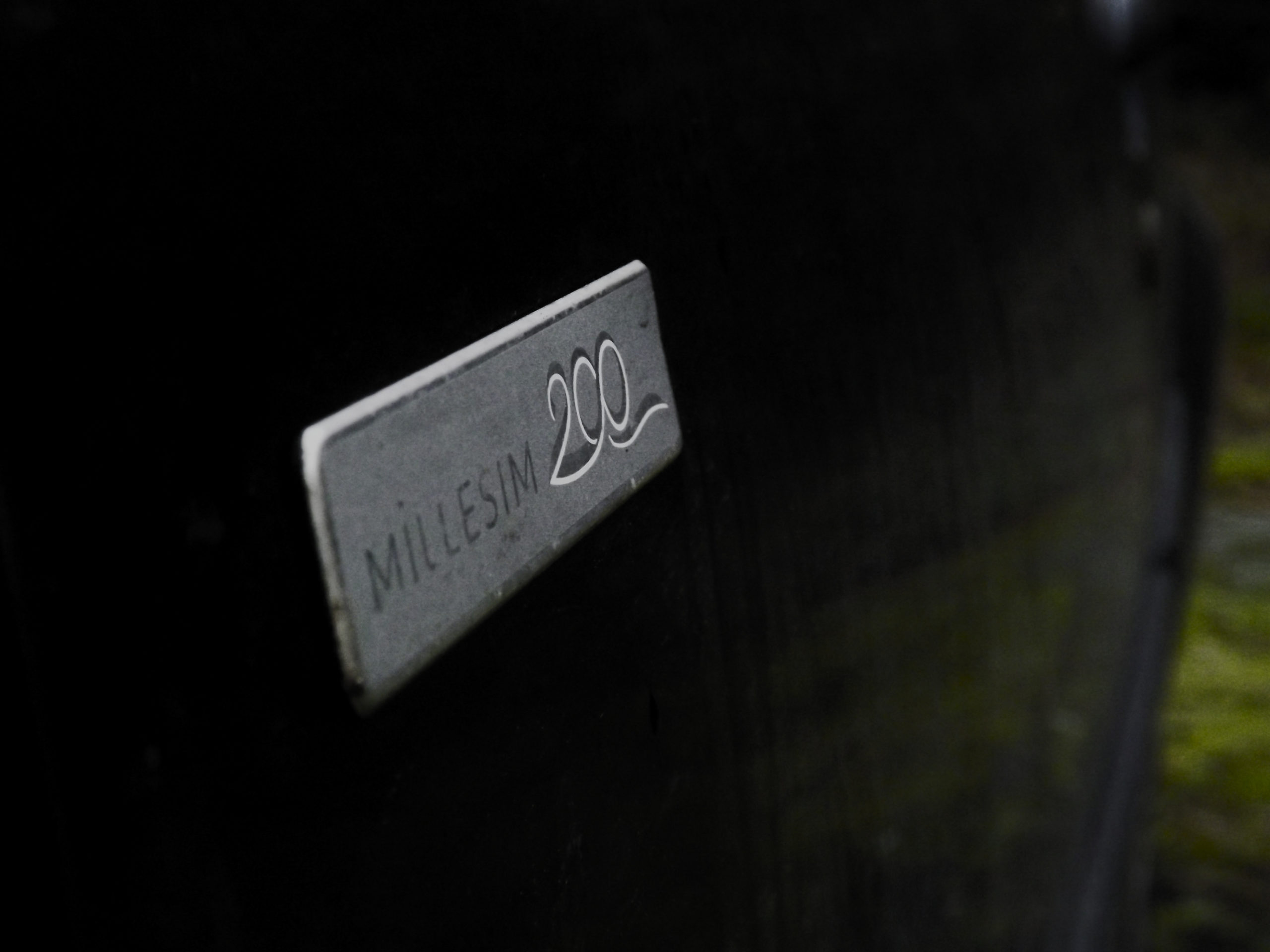 """My Peugeot 107 is a """"Special Edition"""" Millesim 200, celebrating 200 years of Peugeot."""