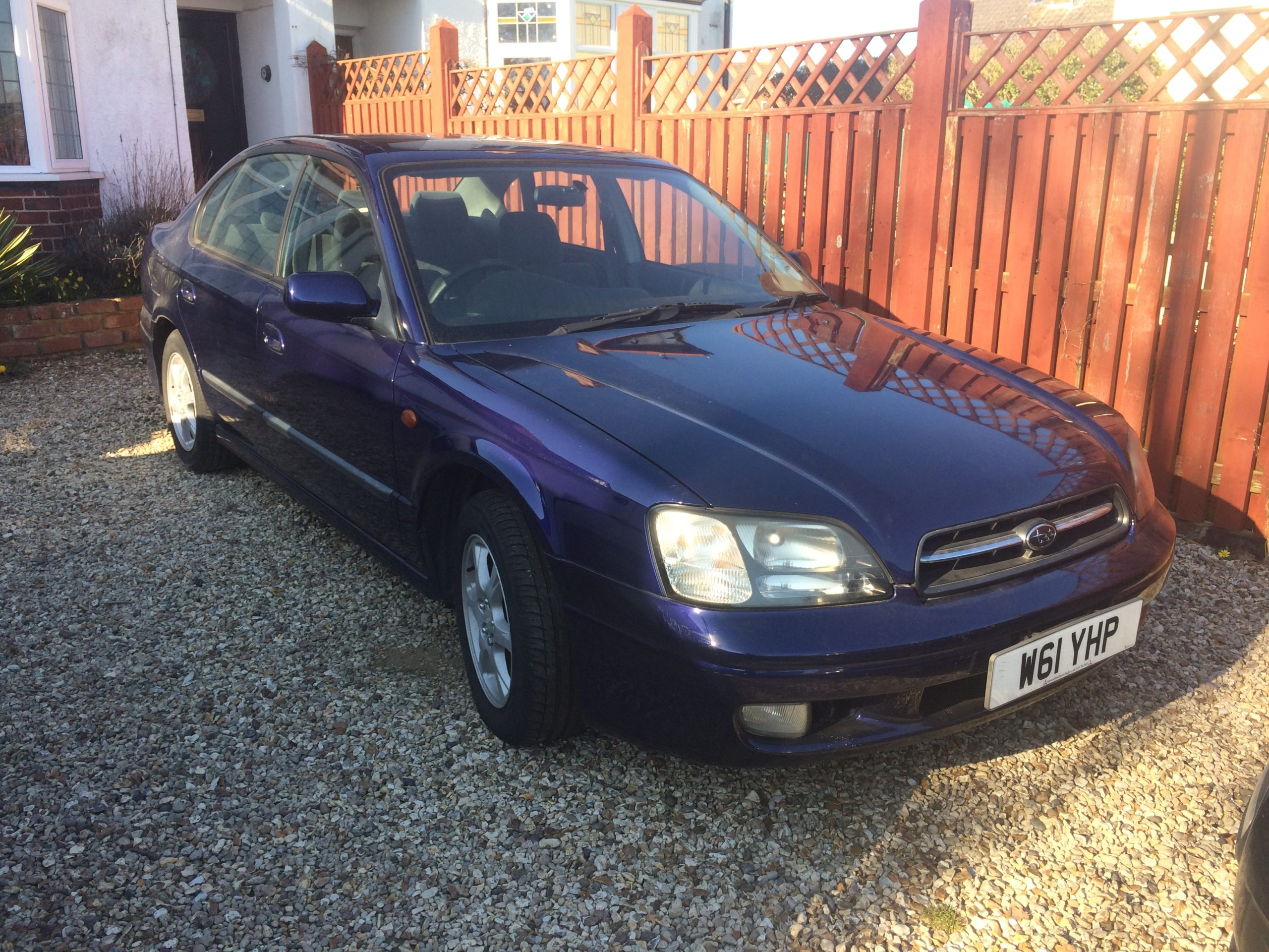 Car Chronicles: The £35 Subaru Legacy