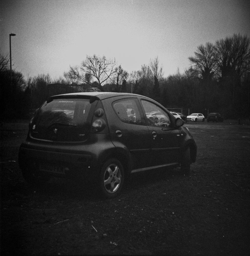 My Peugeot 107, shaking it's ass
