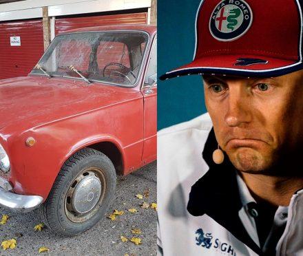 The Lada 2101 and Kimi Raikkonen