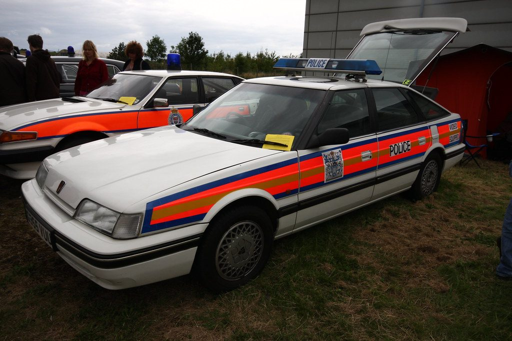 The Police have had previous with the Rover 800.