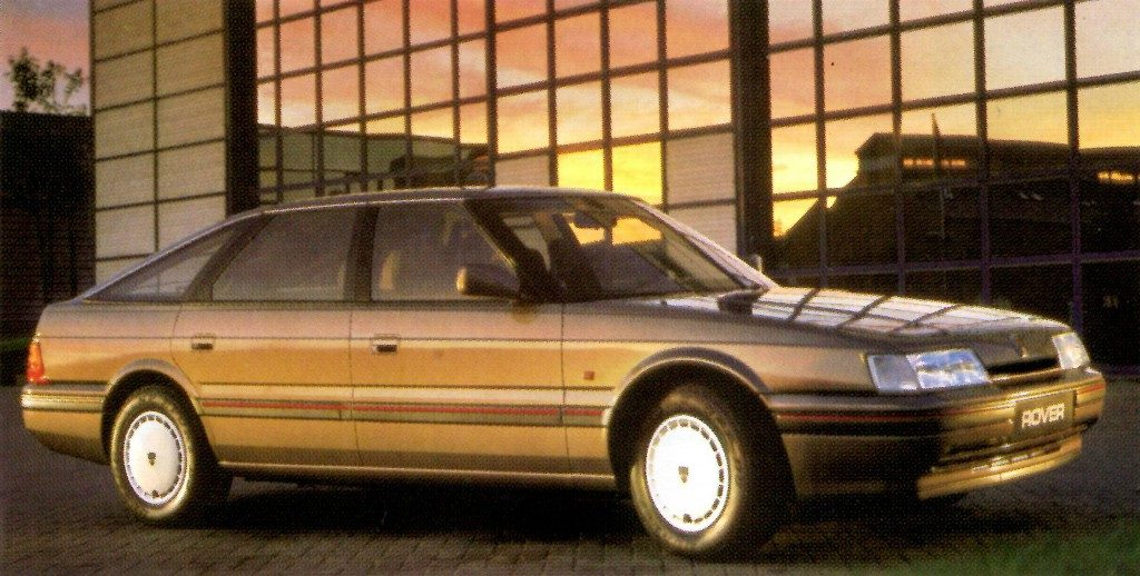 The Rover 800 Fastback was a late edition to the line when the Rover 800 was launched. But it looked amazing!