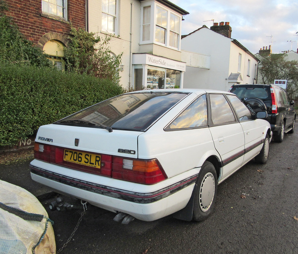 Car Chronicles: My Dad's Rover 820SE – Getaway!