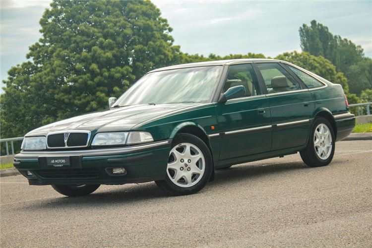 Dad's Mk2 Rover 820 was this colour green. But I don't remember it ever looking as good as this example.