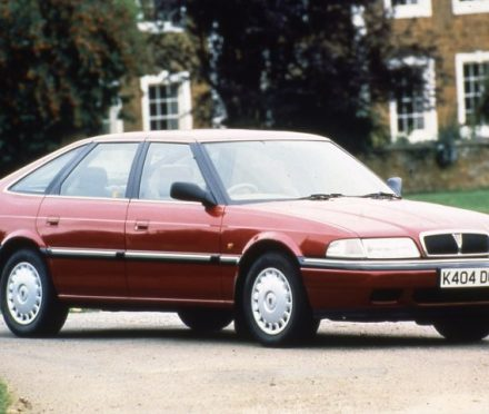 The Mk2 Rover 820 Fastback was the last Rover my Dad owned