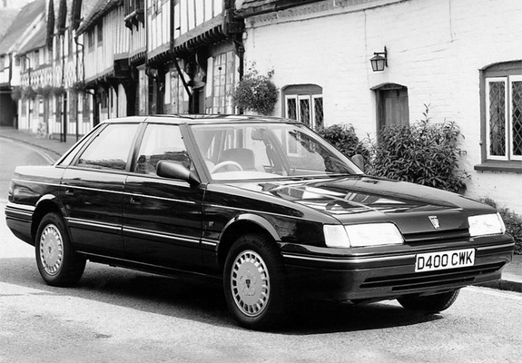 I didn't think I'd have a website with an article about my Dad's Rover 820E on it, so I didn't think to take a photo of it at the time. So a press shot will have to do.