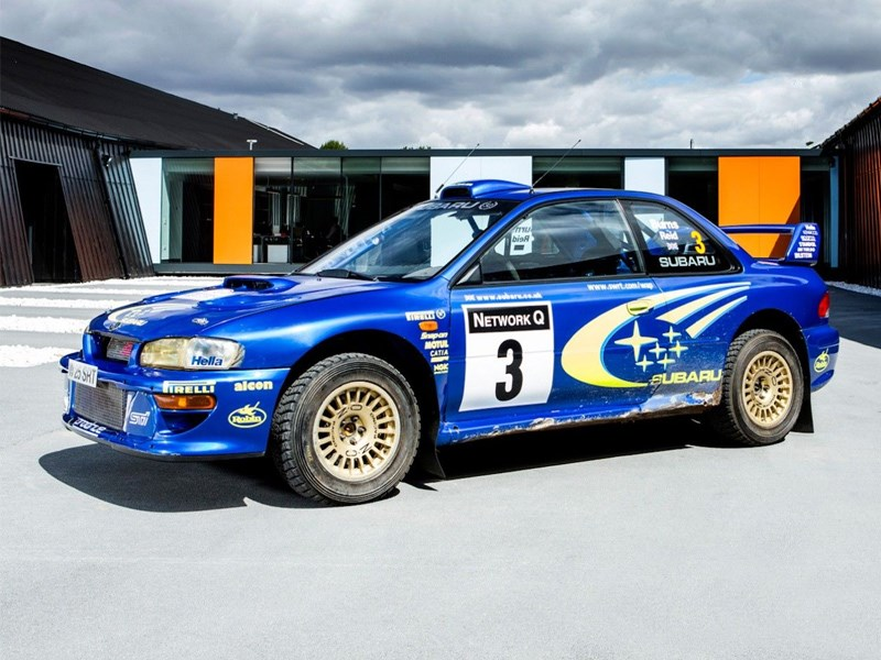 "When you say ""Blue"" and ""Subaru"" to me, this is the car that I immediately think of. Richard Burn's WRC Subaru Impreza."