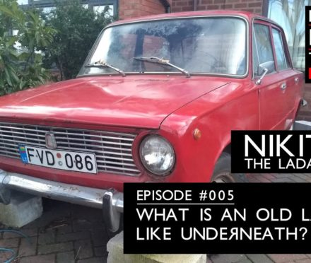 What is an old Lada like underneath? A tour of my Lada 1200