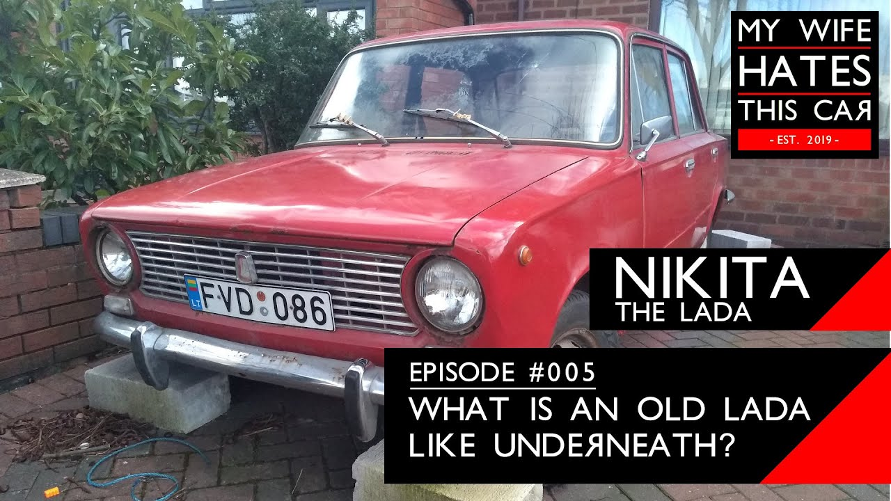 What is an old Lada like underneath? A tour of my 44 year old Lada