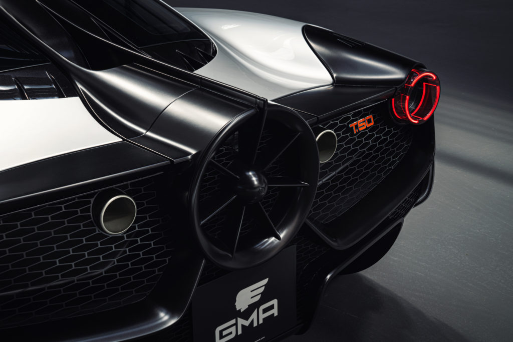 The fan of the GMA T.50, providing 50% of the car's downforce under normal, driving to Tesco, conditions