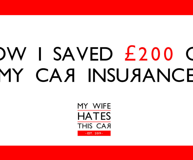 Looking to save money on car insurance? This secret trick saved me £200
