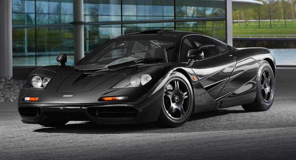 The McLaren F1 was once the fastest road car in the world, designed by Gordon Murrary while at McLaren F1. It was powered by a gold lined BMW engine.