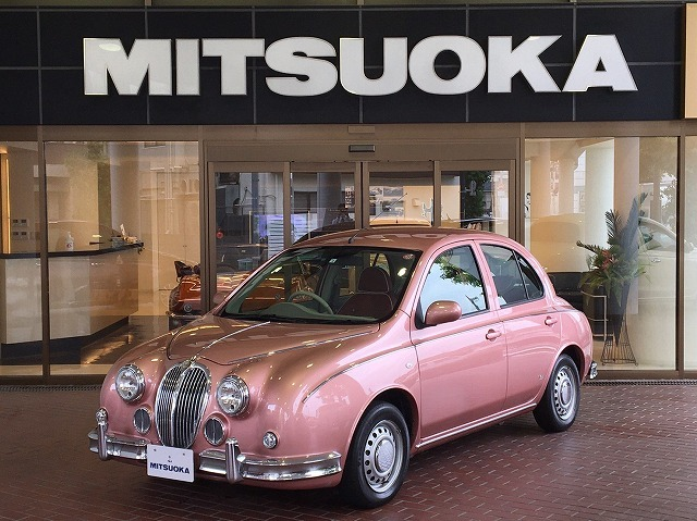 The Mitsuoka Viewt – When a Jaguar humped a Micra