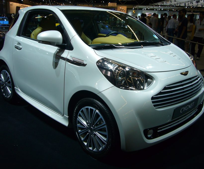 The Aston Martin Cygnet – When luxury met a washing machine