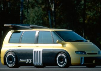 The Renault Espace F1 – The People mover on steroids