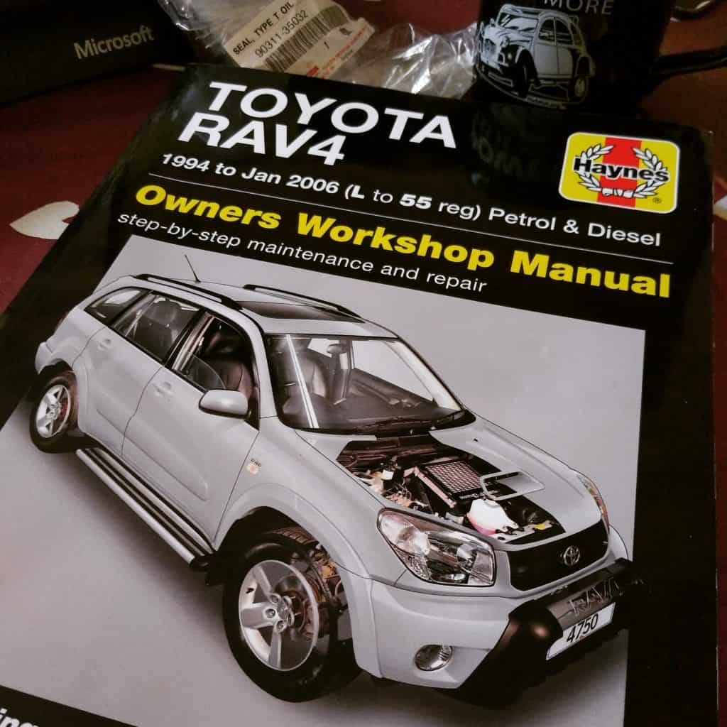 The Haynes manual is an invaluable source of information for the home mechanic, even if sometimes the steps they outline to take may not be the best ones.
