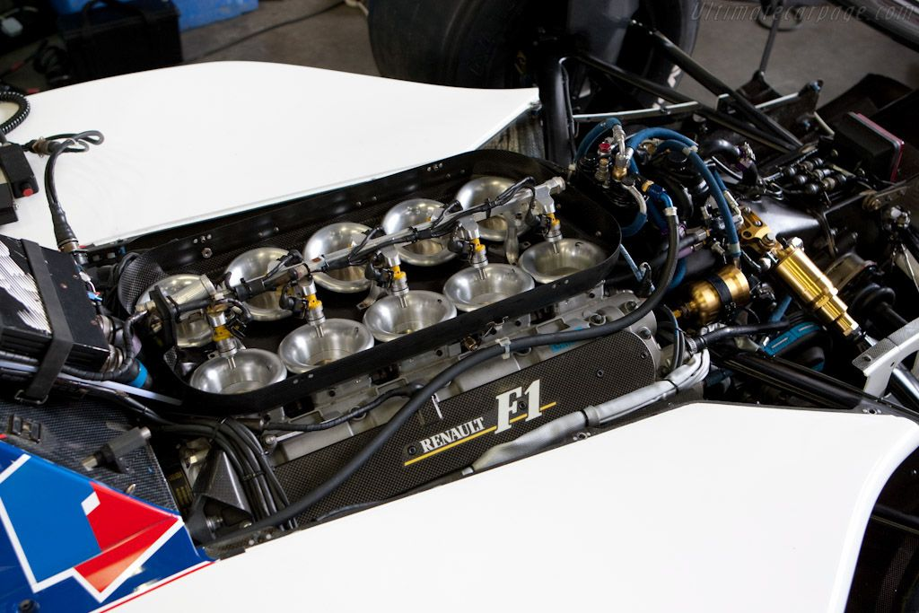 The same Renault engine powering the Renault Espace F1, powered Alain Prost to the F1 Driver's Championship in 1993.