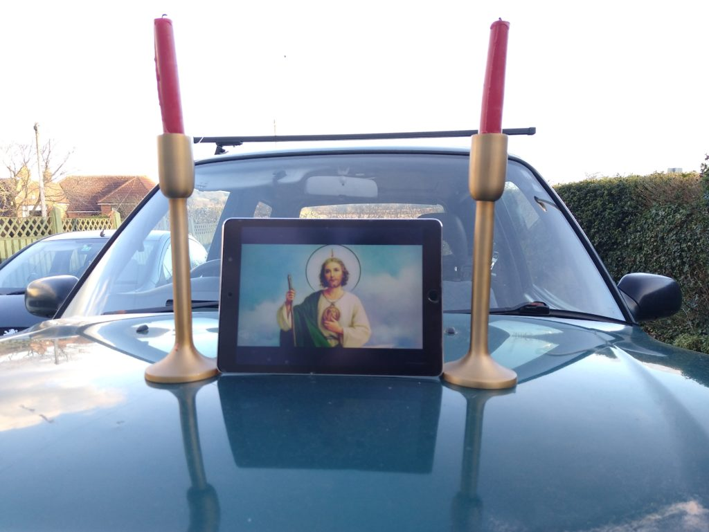 St.Jude, the patron saint of lost causes. Even St.Jude wouldn't touch this RAV4.